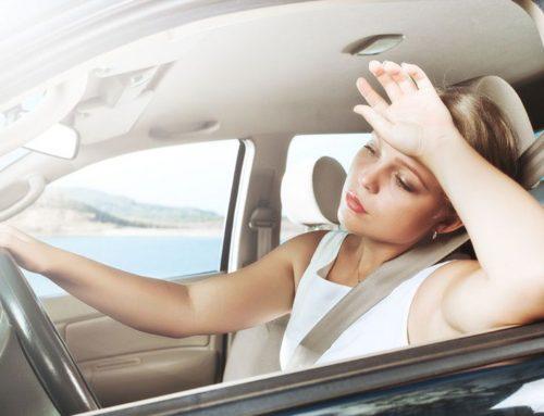 Konzentration und Müdigkeit beim Autofahren